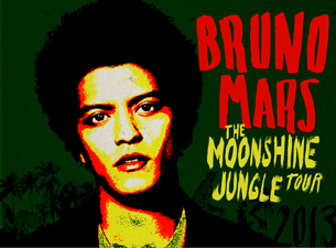 #TAXI is the official onscreen advertising partner for Bruno Mars Moonshine Tour 2013
